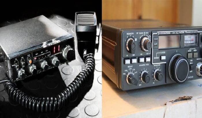 cb radio vs ham radio