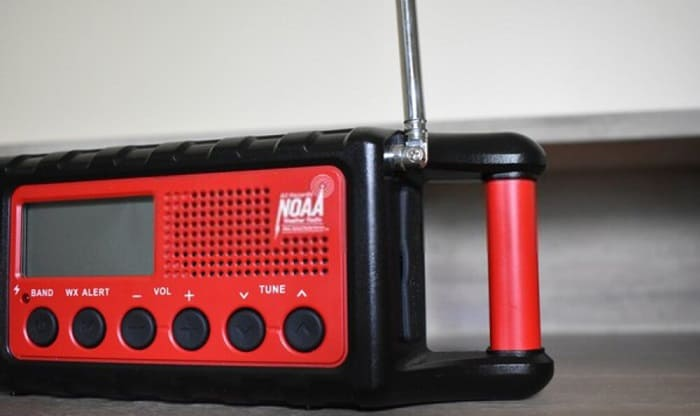 how to program a midland NOAA weather radio