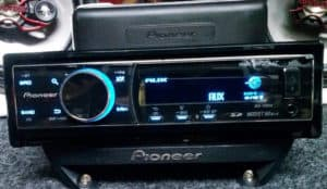 how to turn off pioneer radio
